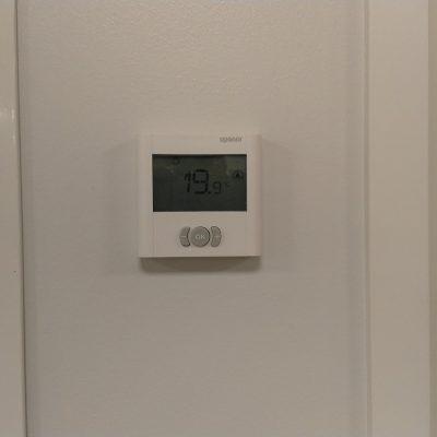 Lattialämmitys lämpötilasäätö